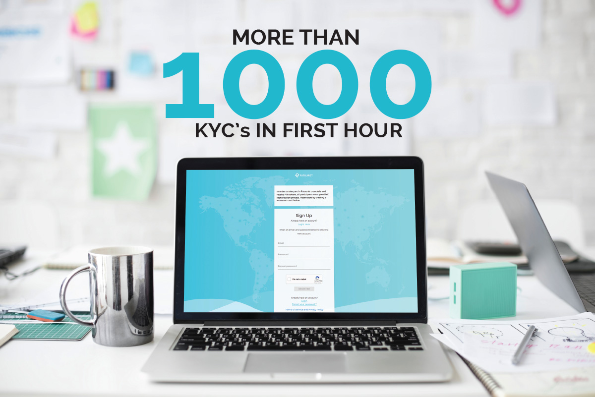 MORE THAN 1000 KYC's
