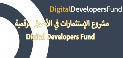مشروع الإستثمارات في الأصول الرقمية Digital Developers Fund