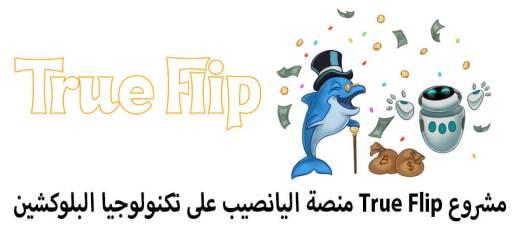مشروع True Flip منصة اليانصيب على تكنولوجيا البلوكشين