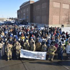 Muncie Mission 'Walk a Mile' March, Muncie Mission Photo