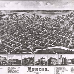 Old Muncie, 1884, DMR Photo