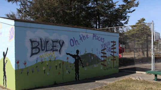 Mural at Buley Center