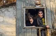 Press pic for les roms (Robbie and Romain). Reynoldsburg, Ohio. October, 2012.