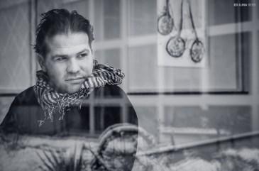Adam at the Franklin Park Conservatory. Columbus, Ohio. December, 2012.