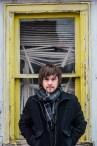 Singer-songwriter Joey Hendrickson. Columbus, Ohio. January, 2013.