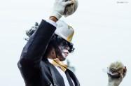 Zulu Social Aid and Pleasure Club, Mardi Gras parade. New Orleans. February, 2013.