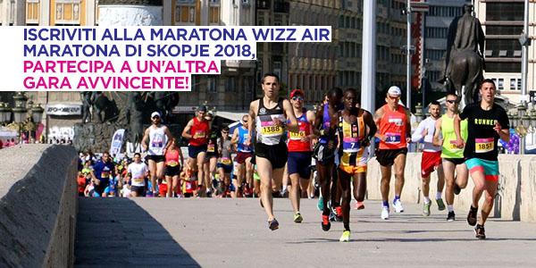 Maratona Wizz Air di Skopje 2018
