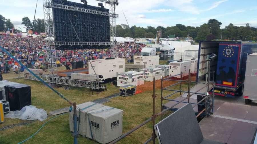 Music festival generators