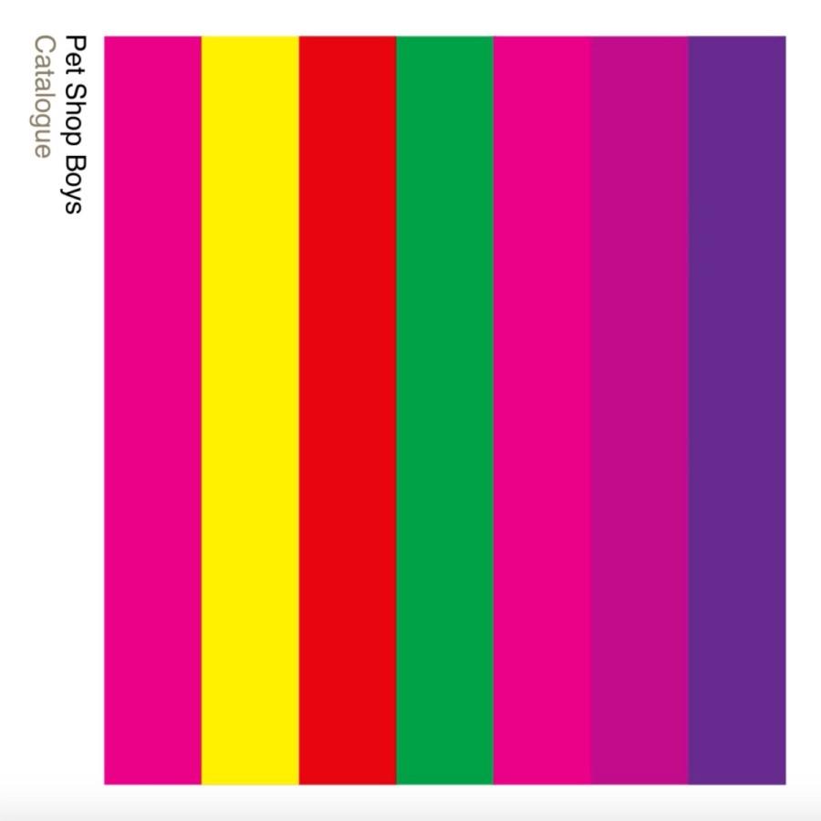 Introspective by Pet Shop Boys album art