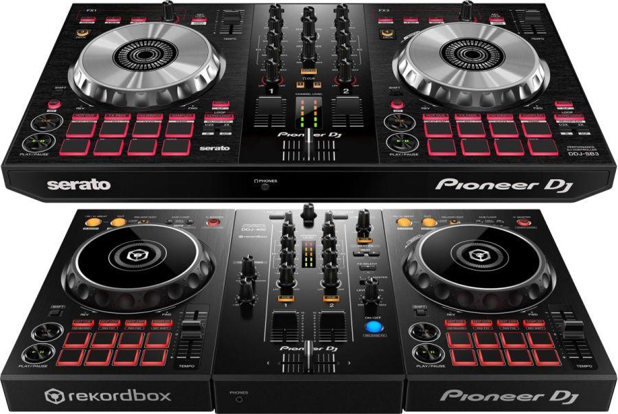 ddj sb3 400 dj controller comparison