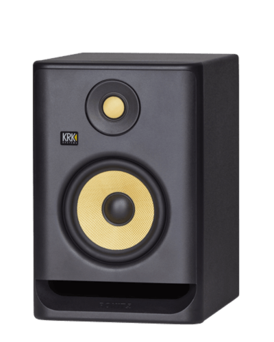 krk rokit rp5 single studio monitor