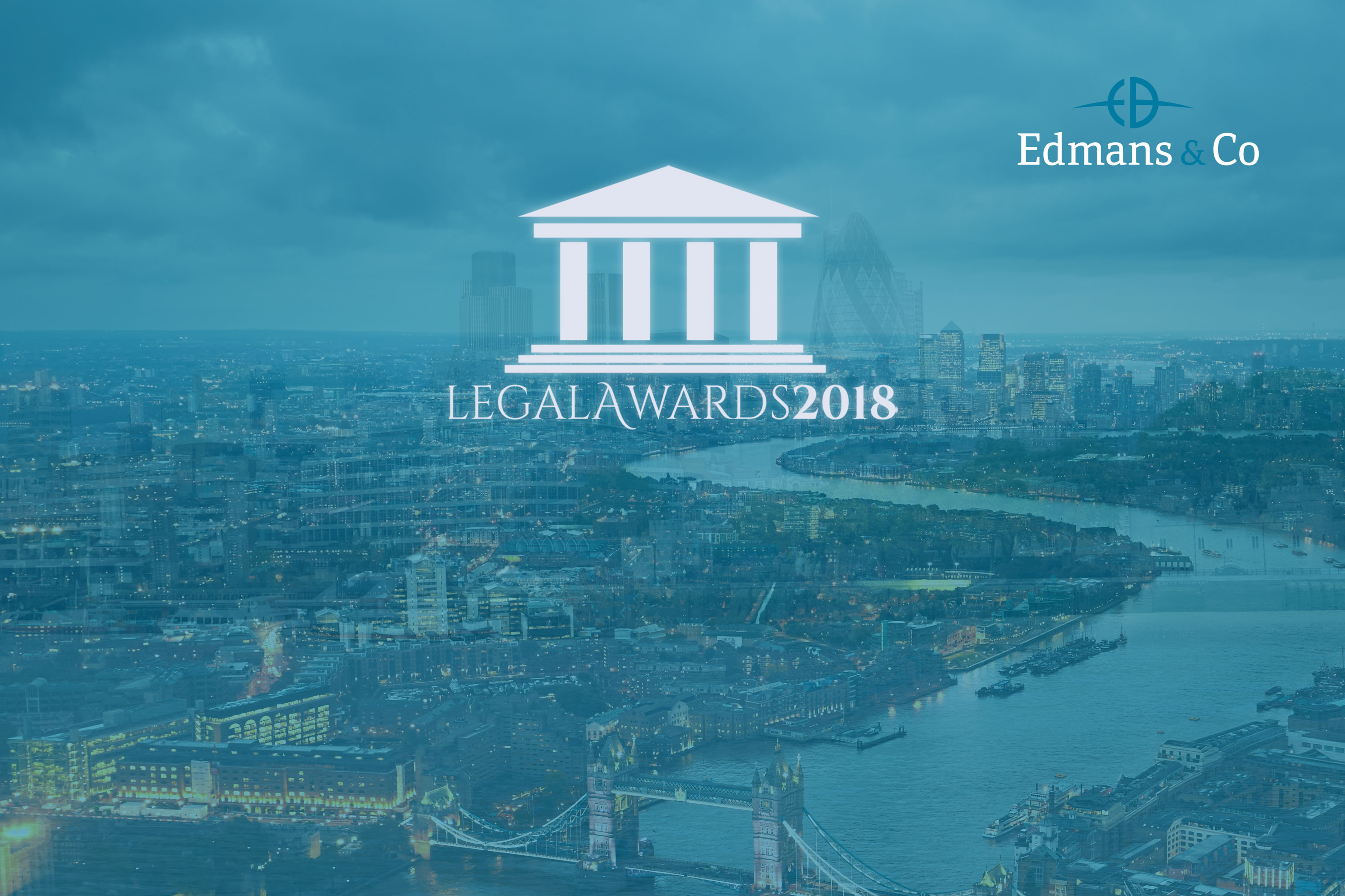 Edmans Co Immigration Law Firm of the Year Legal Awards 2018