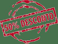 50 Porcento de Desconto