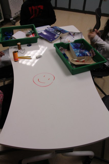 a whiteboard table