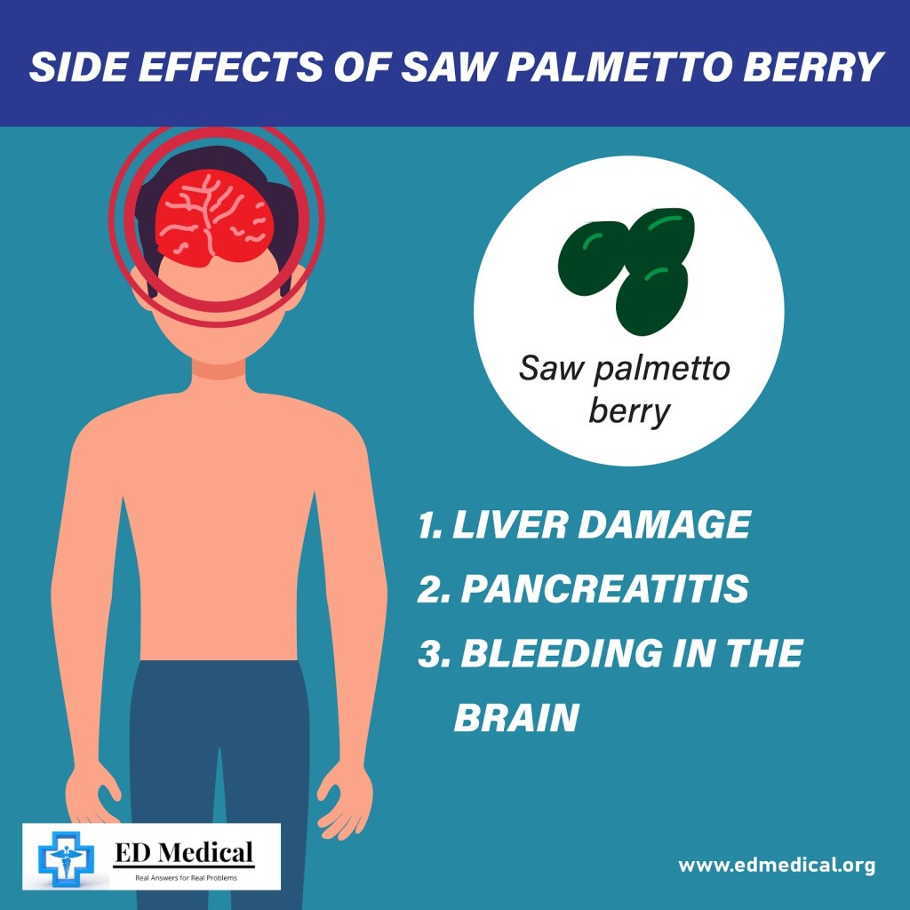 side effects of saw palmetto berry