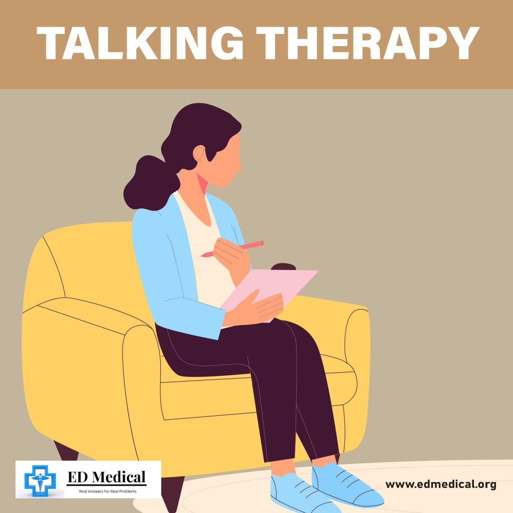 Talking therapy