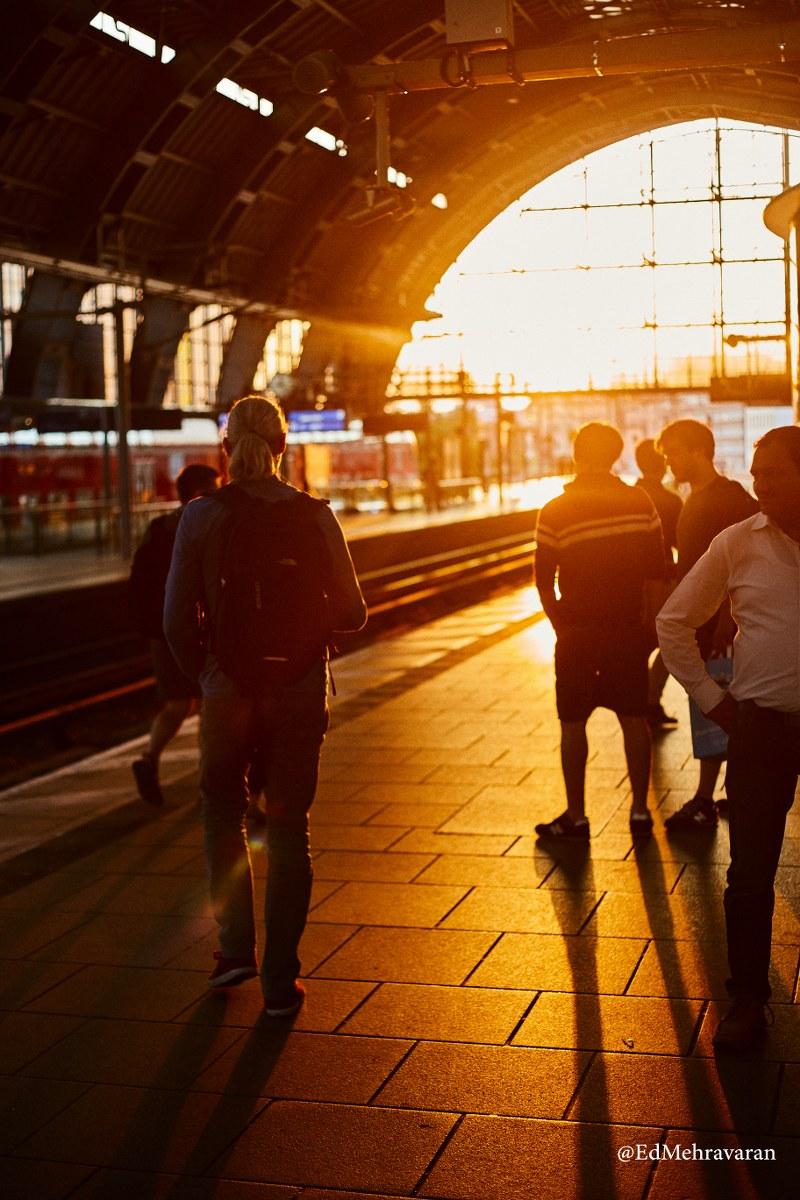 Bahnhof Friedrichstraße Berlin_19 June 2018_Sunset 02