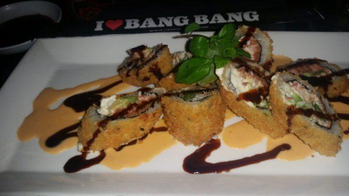 Madeaux Sushi Bang Bang Madaux The Red Baron