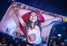 DreamState SoCal 2015 girl flag