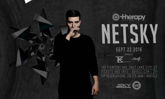 Netsky @ Therapy Thursdays || Event Preview & Ticket Giveaway