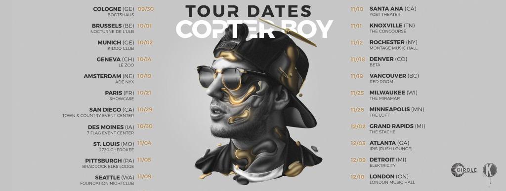 Apashe Copter Boy Tour Dates