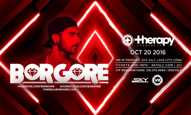 Borgore @ Therapy Thursdays || Event Preview & Ticket Giveaway