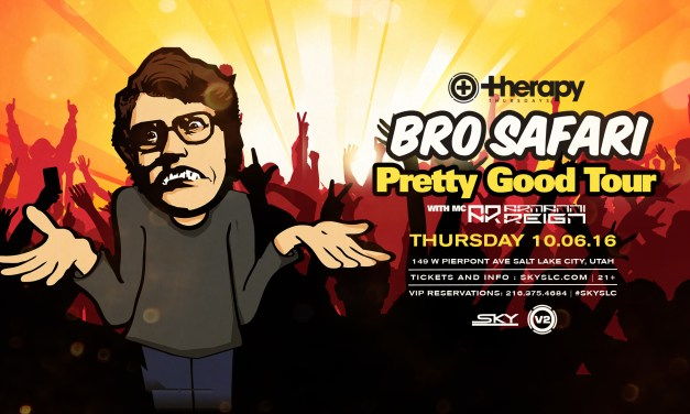 Bro Safari at Therapy Thursdays || Event Preview