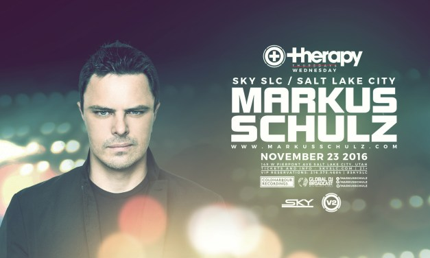 Markus Schulz @ Therapy Wednesday || Preview & Ticket Giveaway