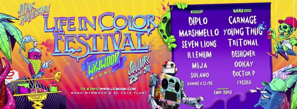Life In Color Miami 2017