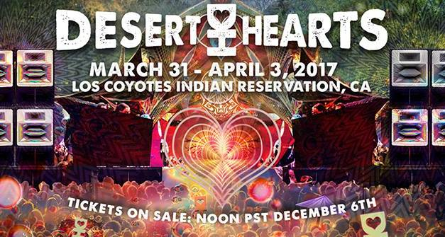 Desert Hearts Announces 2017 Spring Festival & Tour