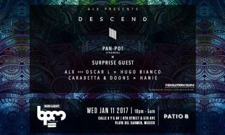 ALX Presents 'Descend' With Pan-Pot At BPM Festival