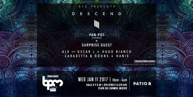 ALX Presents 'Descend' With Pan-Pot At BPM Festival