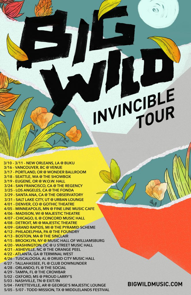 Big Wild - Invincible Tour
