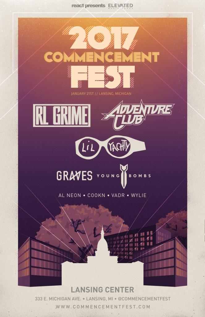 Commencement Fest 2017 Lineup