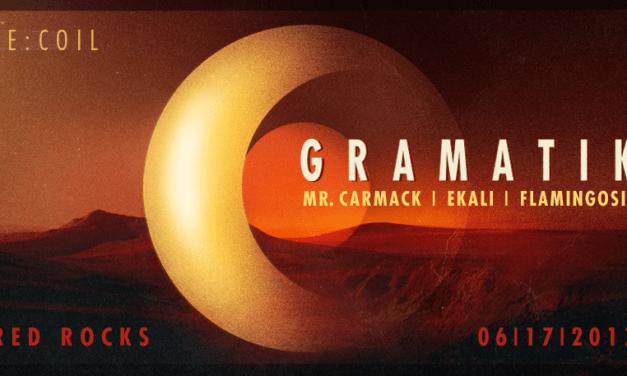 Gramatik Announces New Red Rocks Show, RE:Coil!