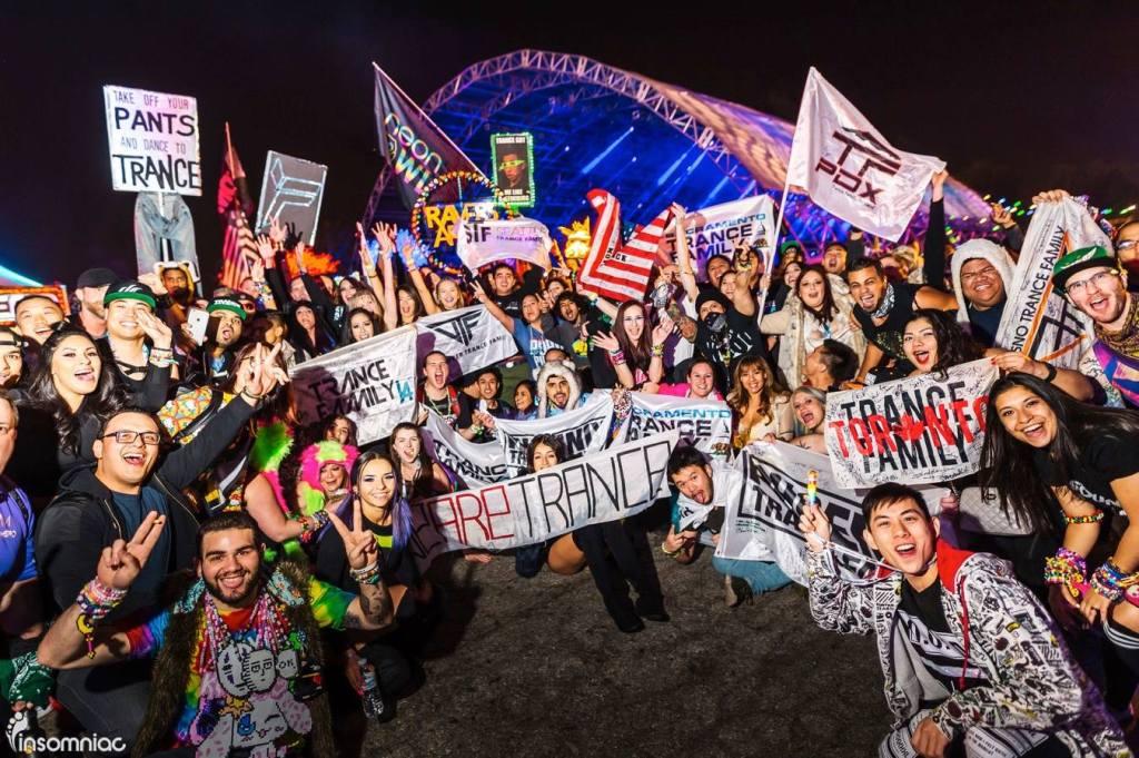 Dreamstate SoCal 2016 Trance Family Photo