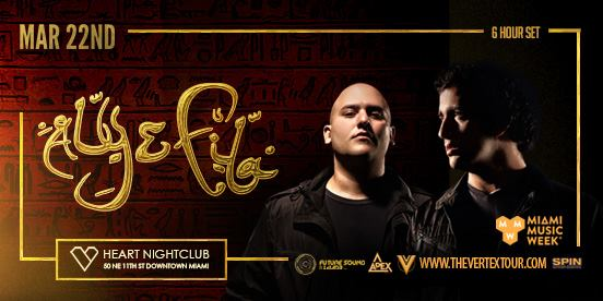 Aly & Fila @ Heart Nightclub || Event Preview & Giveaway