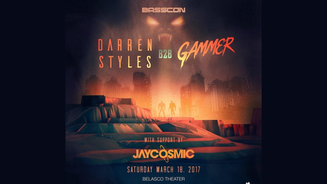 Basscon Presents: Darren Styles b2b Gammer || Event Preview