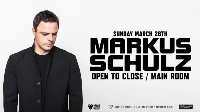 Markus Schulz MMW 2017 Heart Nightclub