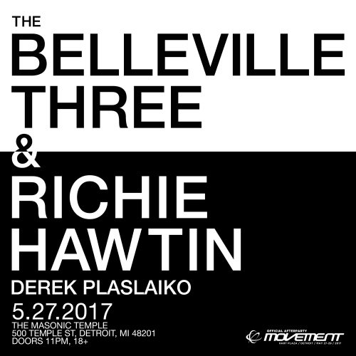 The Belleville Three & Richie Hawtin
