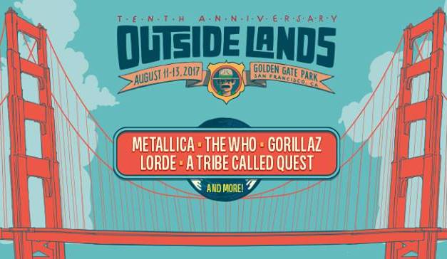 Outside Lands 2017 || Lineup Announced!