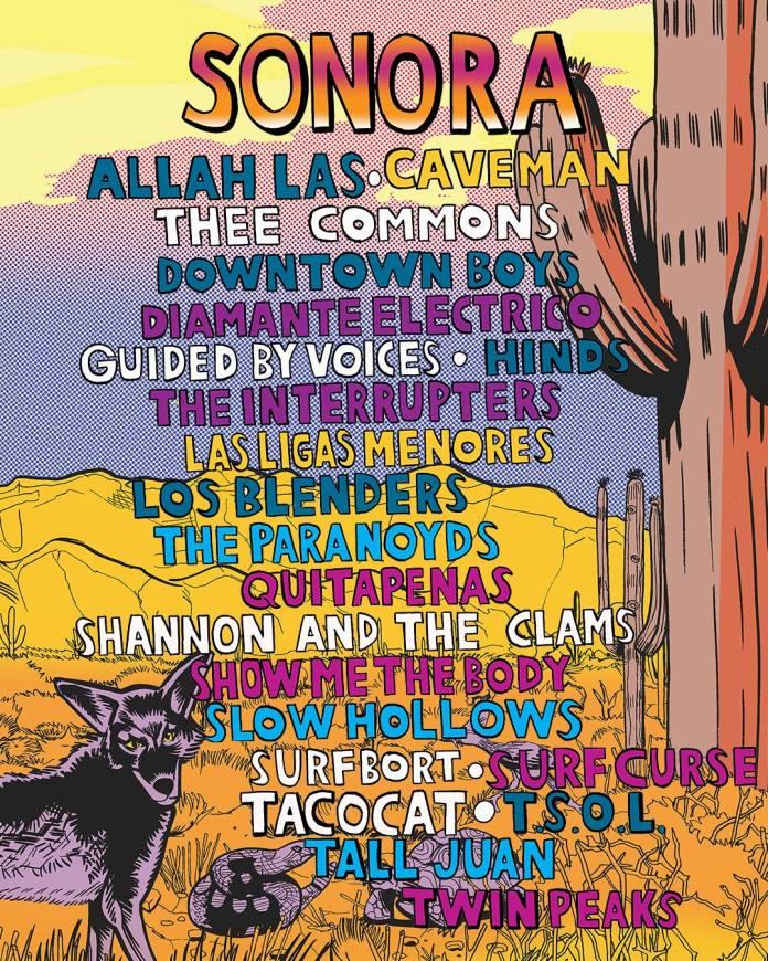 Coachella 2017 Sonora Stage Lineup