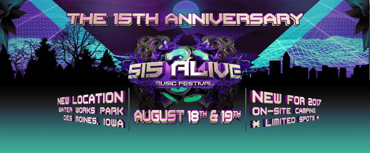 515 Alive Music Festival Announces New Location & Dates For 15th Anniversary