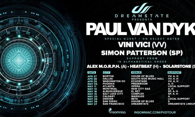 Dreamstate Presents Paul van Dyk @ Opera Nightclub || Event Preview