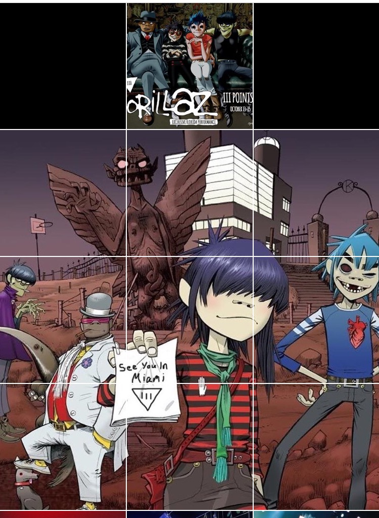 gorillaz iii points