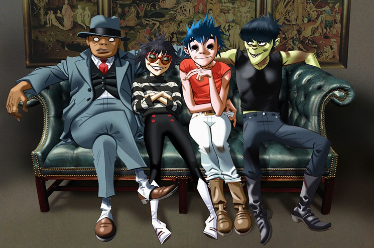 Gorillaz Announce New Tour Including III Points Festival