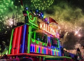 Kalliope Art Car EDC Las Vegas