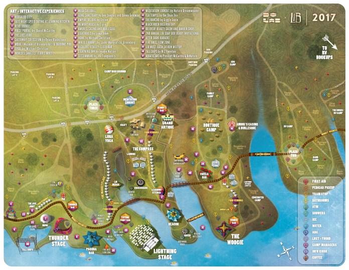 LiB festival map