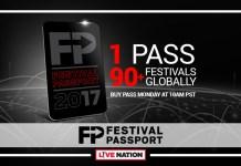 Live Nation Festival Passport