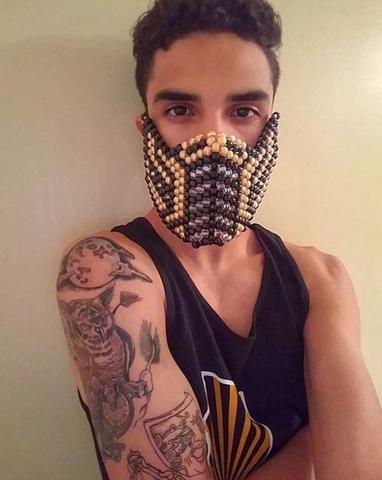 iEDM EDC Outfits Kandi Mask